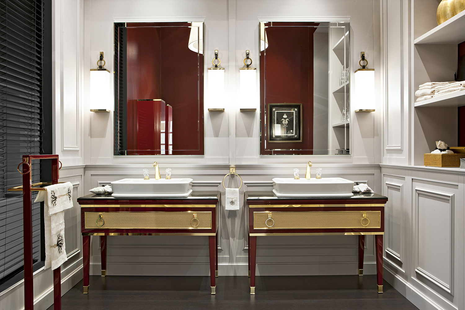 Home interiors bathroom - Modern Classic Art Deco Bathroom Vanities Visit Our Nyc Bathroom Vanities Showroom For More Details