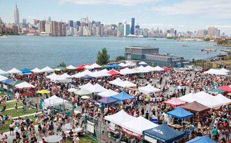 Food Market New York Sunday