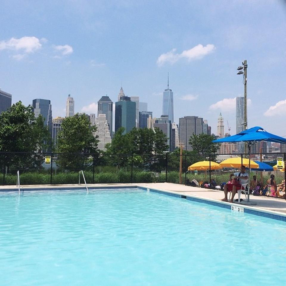 Brooklyn Bridge Park Pop Up Pool Brownstoner