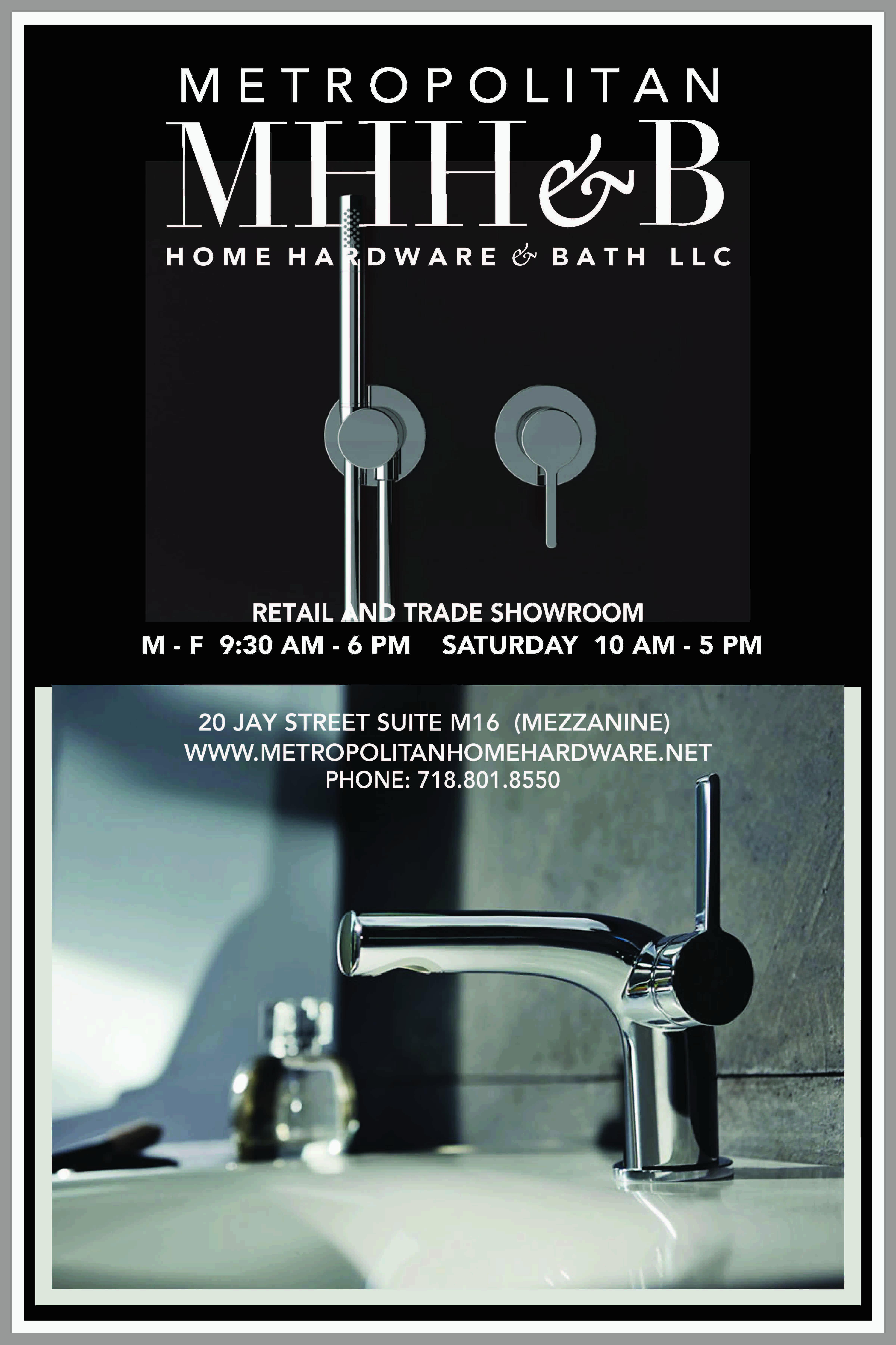 Metropolitan Home Hardware & Bath LLC Dumbo-9