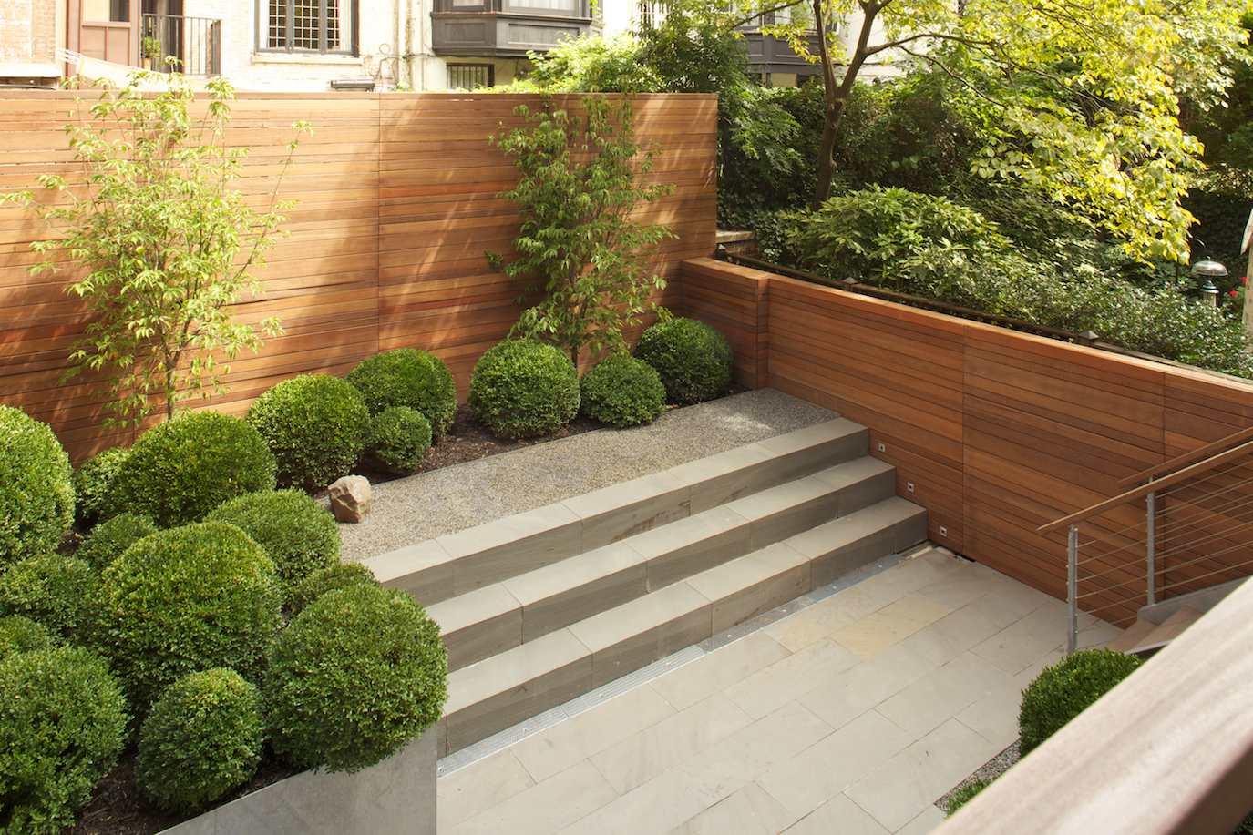 Natural Garden Landscape Design & Build - New York, NY ...