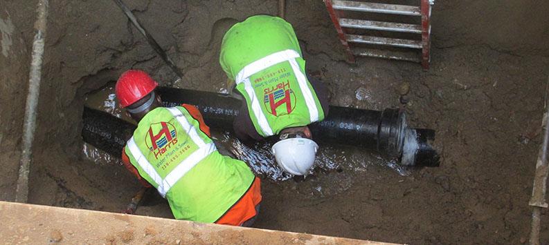 Harris Water Main & Sewer Contractors-2