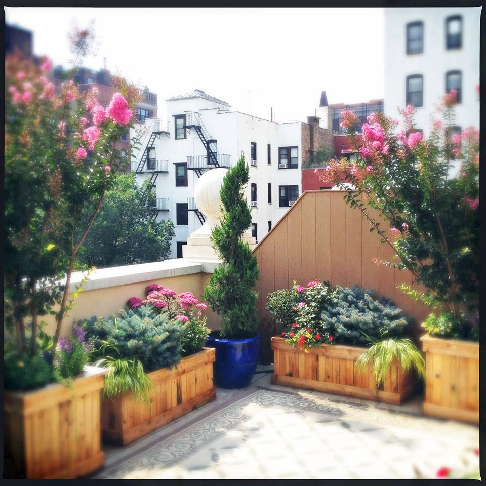 Garden Design Nyc terrace design new york refurbished deck Amber Freda Home Garden Design 9