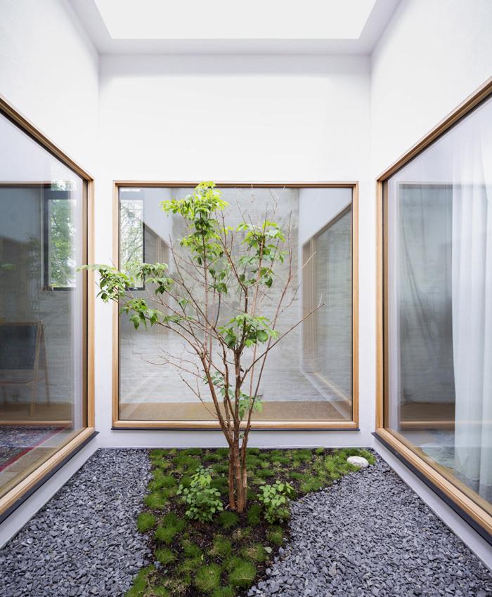 Interior Courtyard Garden Home: Interior Design Ideas: Courtyard Turns Garage Into Light