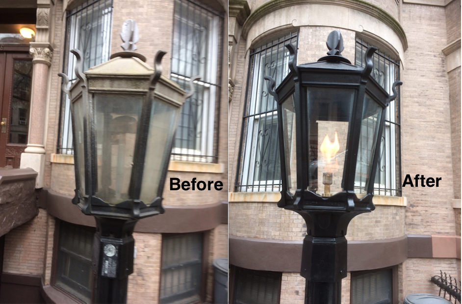 Slope Gas Lamp Repair-1